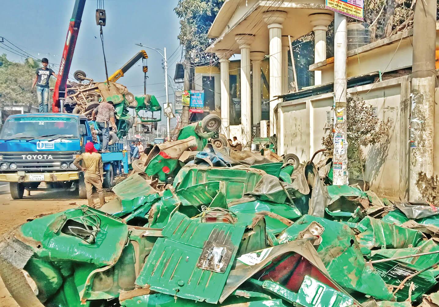চট্টগ্রামে ১২ হাজার সিএনজি অটোরিকশা স্ক্র্যাপিং