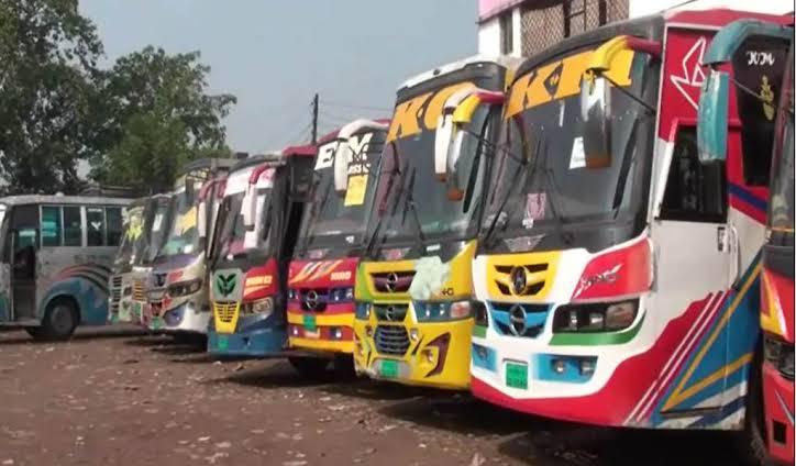 রাঙ্গুনিয়া-কাপ্তাই সড়কের ৫শ বাস শ্রমিক কর্মচারী চরম বিপাকে