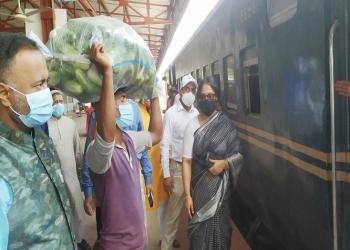 পঞ্চগড়-ঢাকা সবজি পরিবহনে বিশেষ ট্রেন চালু